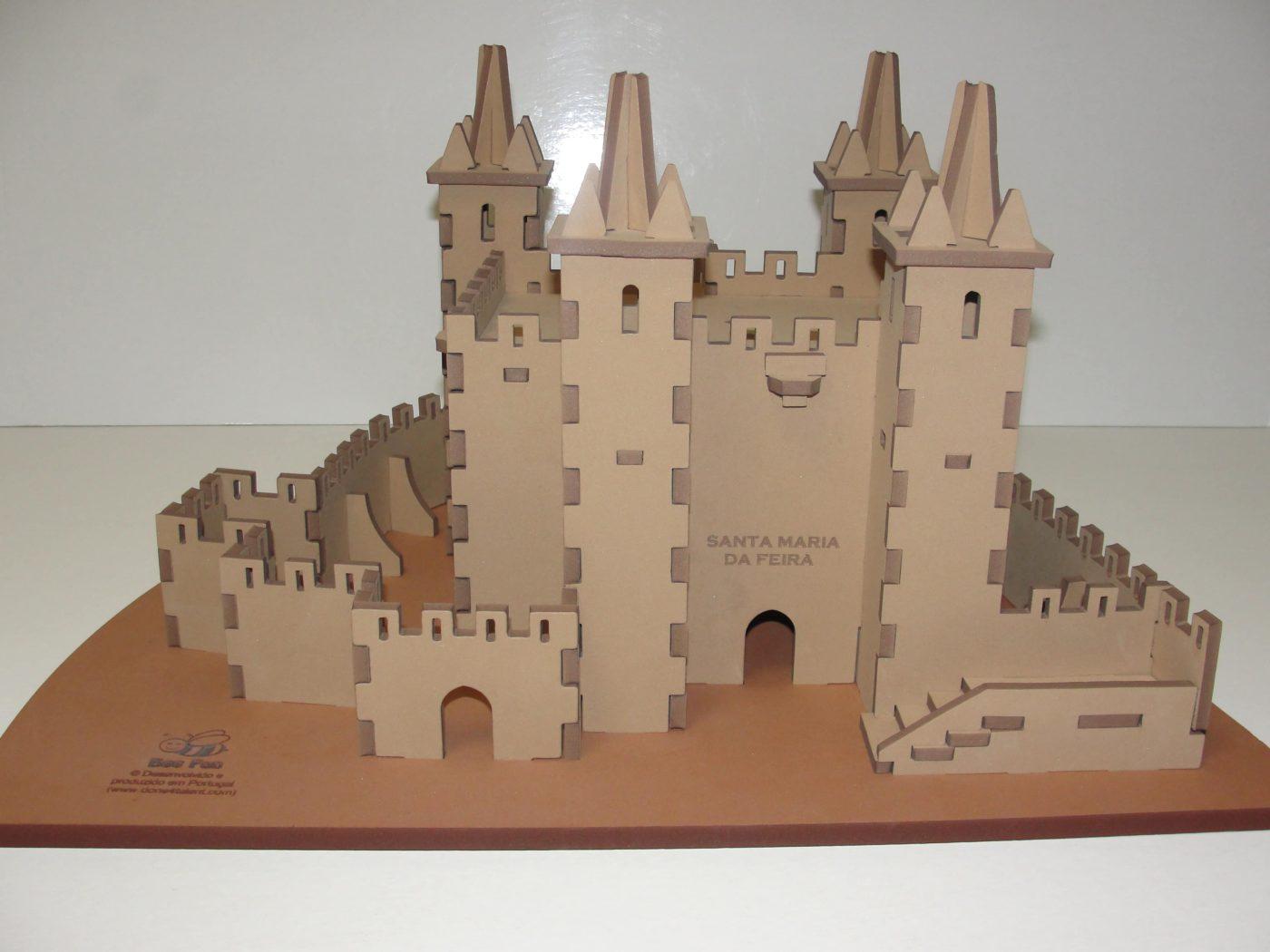 CasteloSantaMariaFeiraPuzzle3D1