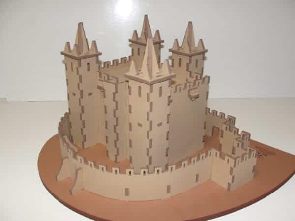CasteloSantaMariaFeiraPuzzle3D