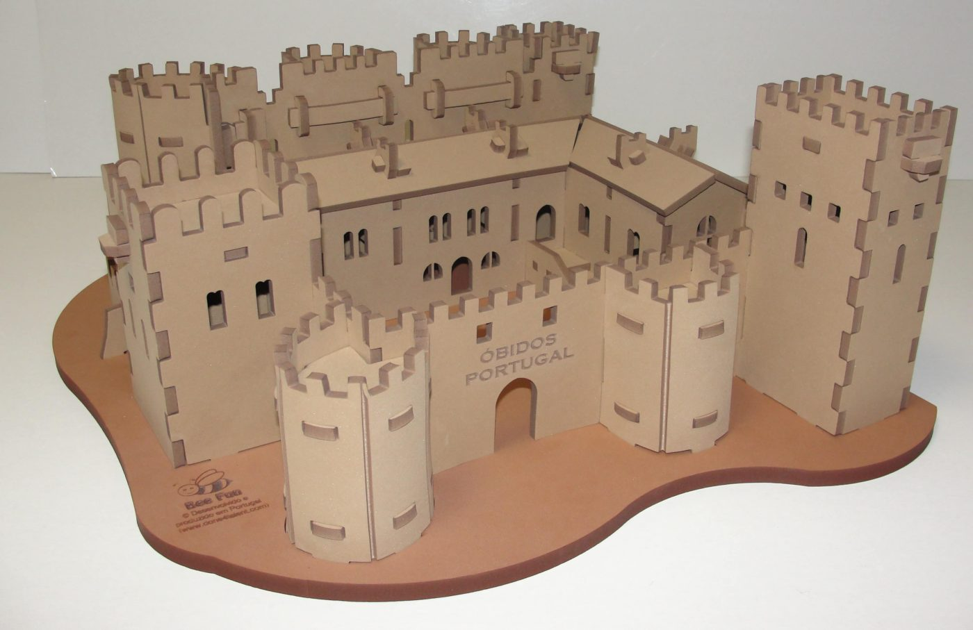 CasteloObidosPuzzle3D